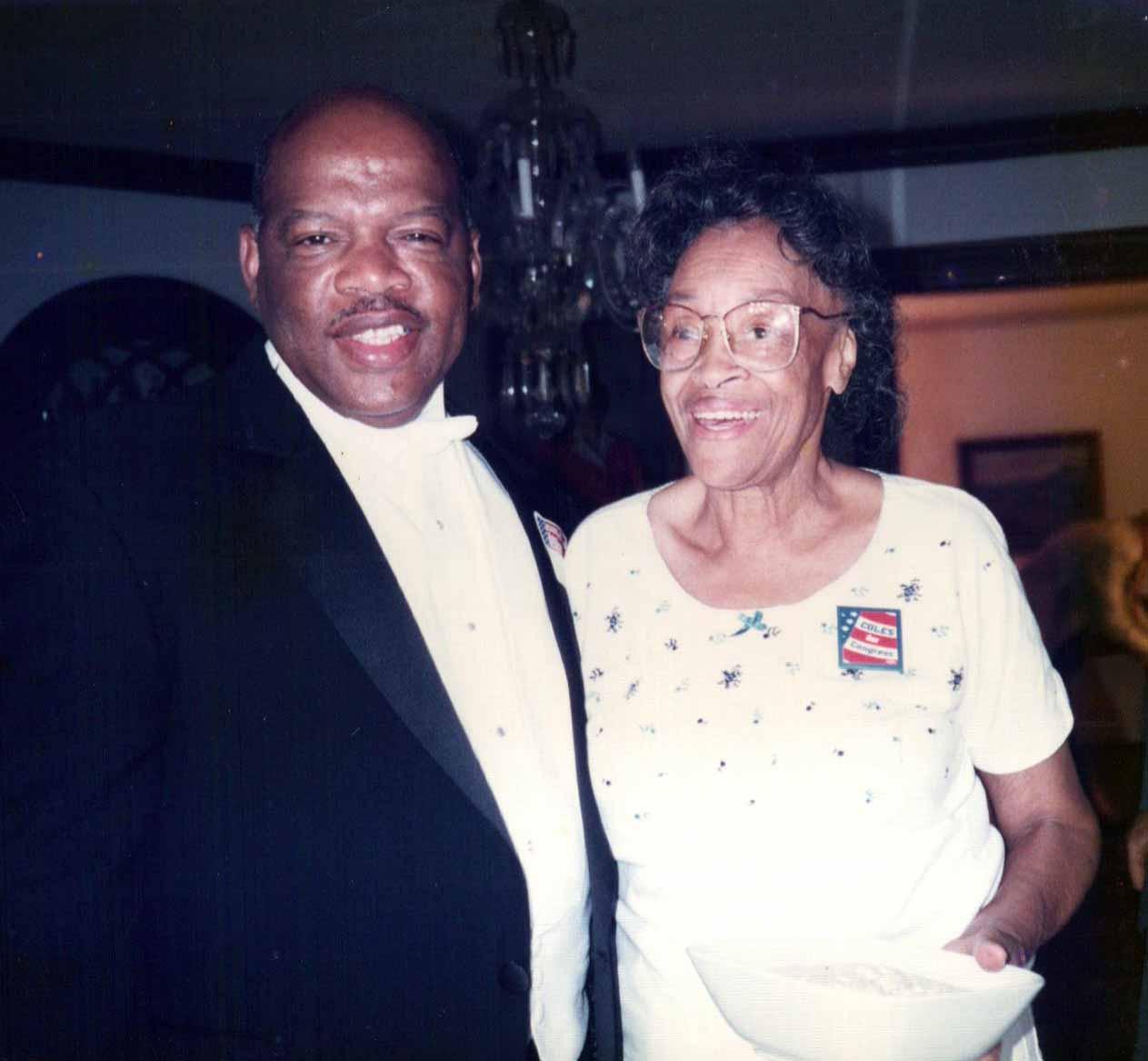 Ella Trammell and John Lewis